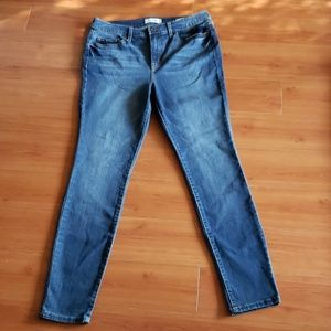 NEW Jessica Simpson Curvy hi rise Skinny jeans 30